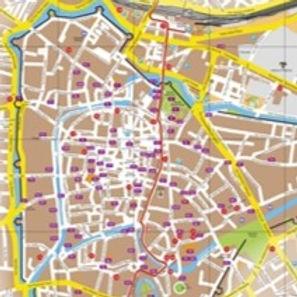 mappe settore turistico